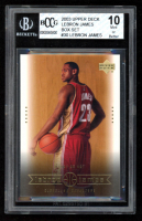 LeBron James 2003 Upper Deck LeBron James Box Set #30 (BCCG 10) at PristineAuction.com