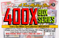 """MYSTERY 400X SERIES"" A True Sports Card Mystery Box! at PristineAuction.com"