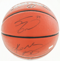 Kobe Bryant & Shaquille O'Neal Signed NBA Game Ball Series Basketball (JSA Hologram & Panini Hologram) at PristineAuction.com