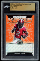 CeeDee Lamb 2020 Leaf Metal Draft Touchdown Kings Pre-Production Proof Wave Orange #1 / 1 (Leaf Encapsulated) at PristineAuction.com