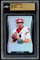 Jake Fromm 2020 Leaf Metal Draft Pre-Production Proof Mojo Black #1 / 1 (Leaf Encapsulated) at PristineAuction.com
