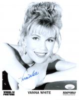 Vanna White Signed 8x10 Photo (JSA COA) at PristineAuction.com
