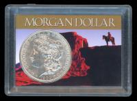 1900 Morgan Silver Dollar In Case at PristineAuction.com