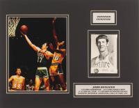 John Havlicek Signed Celtics 14x18 Custom Matted Photo Display (JSA COA) at PristineAuction.com
