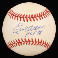 "Earl Weaver Signed OAL Baseball Inscribed ""HOF 96"" (Stacks of Plaques COA) at PristineAuction.com"