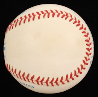 """Earl Weaver Signed OAL Baseball Inscribed """"HOF 96"""" (Stacks of Plaques COA) at PristineAuction.com"""