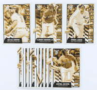 Complete Set of (15) 2020 Topps Big League Flipping Out Oversized Baseball Cards with #FO-11 Aaron Judge, #FO-13 Bryce Harper, #FO-14 Vladimir Guerrero Jr. at PristineAuction.com