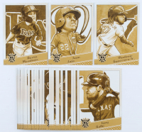 Complete Set of (30) 2020 Topps Big League Star Caricature Oversized Baseball Cards with #SCO-AM Austin Meadows, #SCO-JS Juan Soto, #SCO-VG Vladimir Guerrero at PristineAuction.com