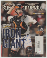 Buster Posey Signed 2016 Baseball America Magazine (PSA COA) at PristineAuction.com
