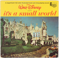 "Original Vintage 1964 Walt Disney's ""It's A Small World"" Vinyl Record LP at PristineAuction.com"