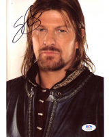 """Sean Bean Signed """"Lord of the Rings"""" 8x10 Photo (PSA COA) at PristineAuction.com"""