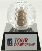 2018 Tour Championship Crystal Golf Ball Filled with Bunker Sand from the 2018 Tour Championship (Fanatics) at PristineAuction.com