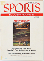 "Vintage 1955 ""Sports Illustrated"" Magazine at PristineAuction.com"