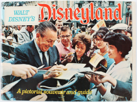 Vintage 1967 Disneyland Pictorial Souvenir & Guide Book at PristineAuction.com