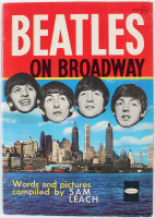"Vintage 1964 ""The Beatles on Broadway"" Brochure at PristineAuction.com"