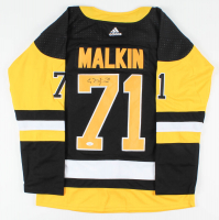 Evgeni Malkin Signed Penguins Jersey (JSA COA) at PristineAuction.com