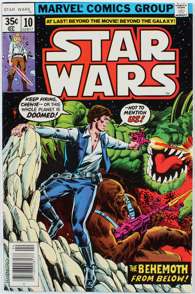 """1978 """"Star Wars"""" Issue #10 Marvel Comic Book at PristineAuction.com"""
