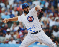 Jake Arrieta Signed Cubs 11x14 Photo (PSA COA) at PristineAuction.com
