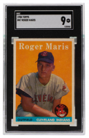 Roger Maris 1958 Topps #47 RC (SGC 9) at PristineAuction.com