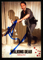 Andrew Lincoln Signed 2014 The Walking Dead Season Three Part 1 #43 Getting Out (JSA COA) at PristineAuction.com