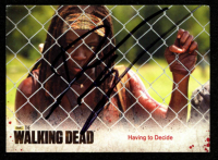 Danai Gurira Signed 2014 The Walking Dead Season Three Part 1 #36 Having to Decide (JSA COA) at PristineAuction.com