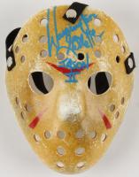 "Warrington Gillette Signed ""Friday the 13th"" Mask Inscribed ""Jason II"" (Legends COA) at PristineAuction.com"