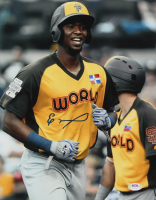 Eloy Jimenez Signed MLB Futures 11x14 Photo (PSA COA) at PristineAuction.com