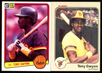 Lot of (2) Tony Gwynn 1983 Rookie Cards With 1983 Fleer #360 RC & 1983 Donruss #598 RC at PristineAuction.com