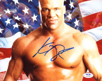 Kurt Angle Signed WWE 8x10 Photo (PSA COA) at PristineAuction.com