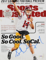 Sam Darnold Signed USC Trojans 11x14 Photo (PSA COA) at PristineAuction.com