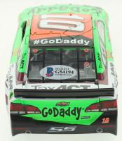 Danica Patrick Signed 2015 #10 Go Daddy Chevrolet SS 1:24 Die-Cast Car (Beckett COA) at PristineAuction.com