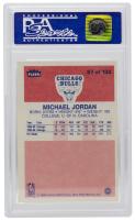 Michael Jordan 1986-87 Fleer #57 RC (PSA 8) (OC) at PristineAuction.com