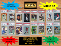 ICON AUTHENTIC 300X MYSTERY BOX SERIES 42 300+ Cards per Box at PristineAuction.com