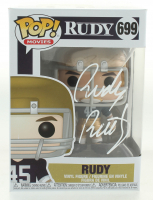 "Rudy Ruettiger Signed ""Rudy"" #699 Funko Pop! Vinyl Figure (JSA COA) at PristineAuction.com"