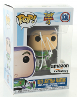 "Tim Allen Signed ""Toy Story 4"" #536 Buzz Lightyear Funko Pop! Vinyl Figure (Beckett COA) at PristineAuction.com"