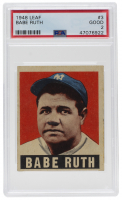 Babe Ruth 1949 Leaf #3 (PSA 3) at PristineAuction.com