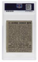 Babe Ruth 1949 Leaf #3 (PSA 3) at PristineAuction.com