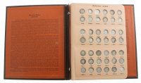 1916-1945 Complete Collection of 10¢ Mercury Dimes with Danseco Coin Book at PristineAuction.com