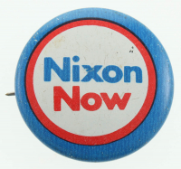 Vintage 1969 Richard Nixon Presidential Campaign Pin at PristineAuction.com