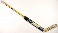 Tuukka Rask & Jordan Sigalet Signed Game-Used Nike Bauer Goalie Stick (Rask COA & YSMS COA) at PristineAuction.com