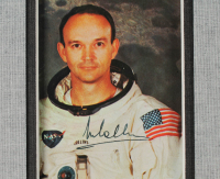 Buzz Aldrin, Neil Armstrong, & Michael Collins Signed 27x30 Custom Framed Photo Display (JSA LOA & Zarelli LOA) at PristineAuction.com