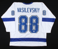 Andrei Vasilevskiy Signed Jersey (JSA COA) at PristineAuction.com
