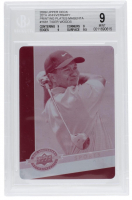 Tiger Woods 2009 Upper Deck 20th Anniversary Printing Plates Magenta #1681 (BGS 9) at PristineAuction.com