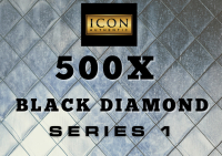 ICON AUTHENTIC  500X BLACK DIAMOND  MYSTERY BOX SERIES 1 500+ Cards per Box at PristineAuction.com