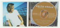 "Keith Urban Signed ""Golden Road"" CD Album Cover (Beckett COA) at PristineAuction.com"