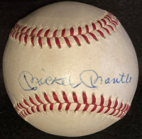 Mickey Mantle & Roger Maris Signed OAL Baseball (PSA LOA) at PristineAuction.com