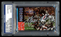 Walter Payton Signed 1995 Bears Super Bowl XX 10th Anniversary Kemper #14 (PSA Encapsulated) at PristineAuction.com