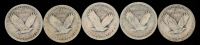 Lot of (5) 1925-1929 Standing Liberty Quarters at PristineAuction.com
