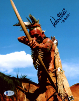 "Wes Studi Signed ""Dances with Wolves"" 8x10 Photo Inscribed ""2020"" (Beckett COA) at PristineAuction.com"