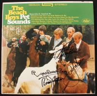 "Mike Love, Al Jardine, & Bruce Johnston Signed ""Pet Sounds"" Vinyl Record Album (Beckett LOA) at PristineAuction.com"